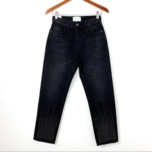 Current/Elliott NWT The Vintage Cropped Slim Jean